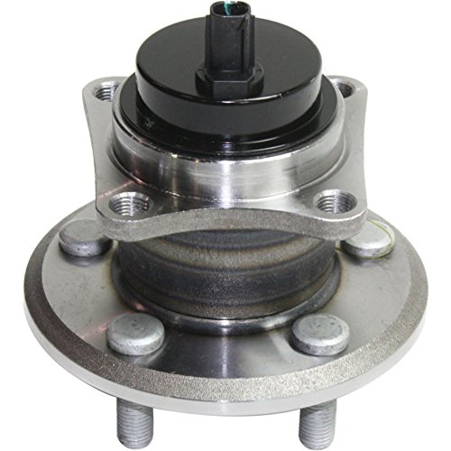 Evan-Fischer EVA165511544 Wheel Hub Rear Driver or Passenger Side Includes ABS sensor and lug bolts Bolt Pattern 5 x 3.94 in.