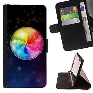 For Sony Xperia Z5 Compact Z5 Mini (Not for Normal Z5) Case , design Palla - la tarjeta de Crédito Slots PU Funda de cuero Monedero caso cubierta de piel