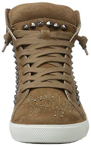 Kennel und Schmenger SchuhmanufakturQueens - Zapatillas Mujer Braun (cuir Sohle Weiss)
