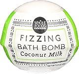 Whole Foods Market, Coconut Milk Fizzing Bath Bomb, 2.3 Ounce