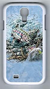 Find 11 Trout Polycarbonate Hard Case Cover for Samsung Galaxy S4/I9500 White