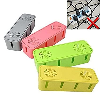 Rural Mart Socket Spike Guard Storage Box Overload Protection in Random Colors