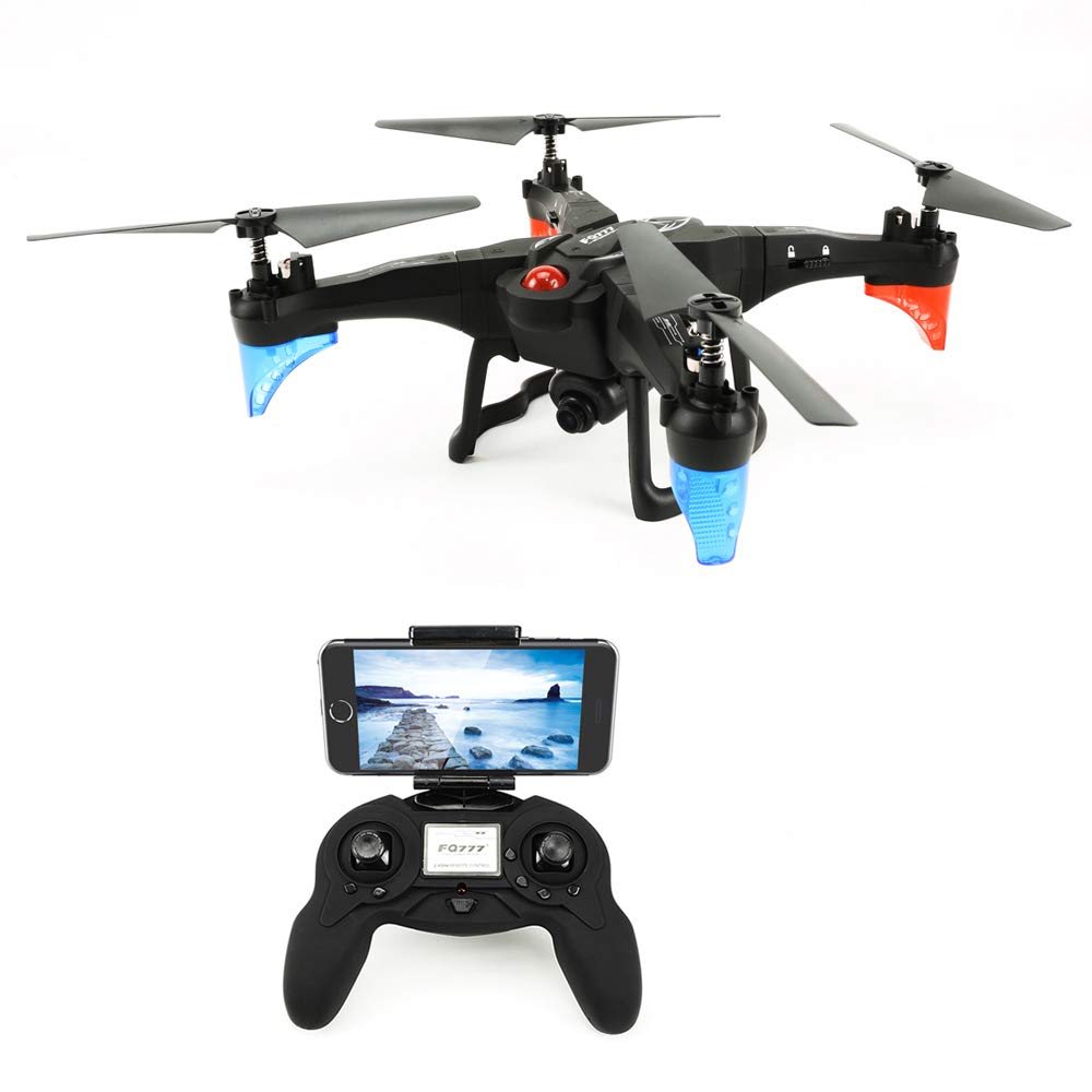 NBKLS Drohne, WiFi Feste Feste WiFi Höhe Flugzeug DIY Demontage Fernbedienung Flugzeug Modell Spielzeug Foto/Video/EIN-Knopf-Burte/vernetzbare Mobile APP 14c3de