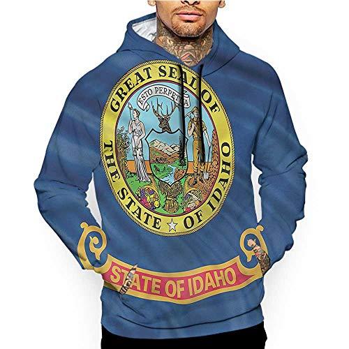 flybeek Hoodies SweatshirtAutumn Winter American,The State of Washington,Sweatshirt Blanket Throw