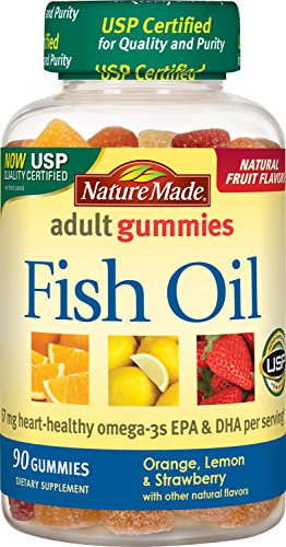 Cheap Nature Made Fish Oil Adult Gummies (57 mg of Omega-3s EPA & DHA per serving) 90 Ct