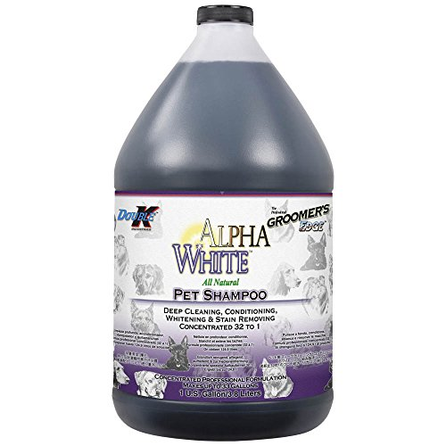 Groomers Edge - Groomers Edge Alpha White Shampoo, 1 Gallon