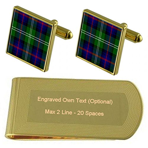 Tartan Tartan Tone Sutherland Clan Clip Money Gold Clan Engraved Y5dwAqw