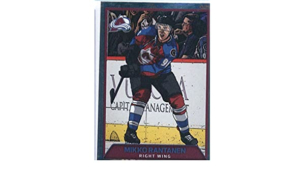 7caeadbf3 Amazon.com  2017-18 Panini Stickers  291 Mikko Rantanen Colorado Avalanche  Foil Hockey Sticker  Collectibles   Fine Art