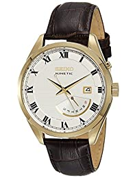 Seiko Mens KINETIC Analog Business Watch (Imported) SRN074P1