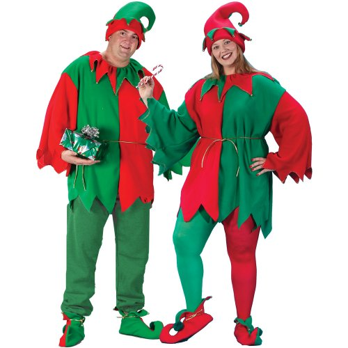 Fun World Classic Elf Adult Plus Costume