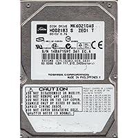 MK6021GAS, D0/GA024A, HDD2183 S ZE01 T, Toshiba 60GB IDE 2.5 Hard Drive