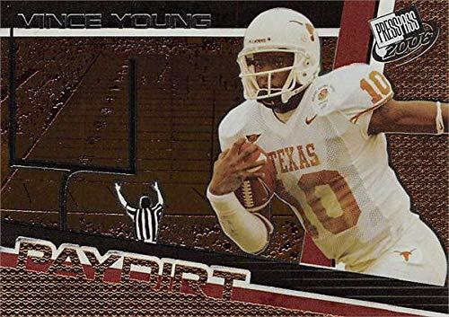 - Vince Young football card (Texas Longhorns) 2006 Press Pass Paydirt Rookie #PD1