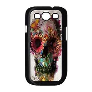 Skull Custom Cover Case for Samsung Galaxy S3 I9300,diy phone case ygtg556290