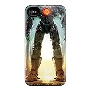 Durable Defender Case For Iphone 4/4s PC Cover(pacific Rim Banner) BY icecream design