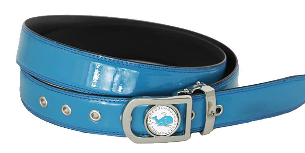 Giggle Golf Women's Ball Marker Belt Small Dark Blue
