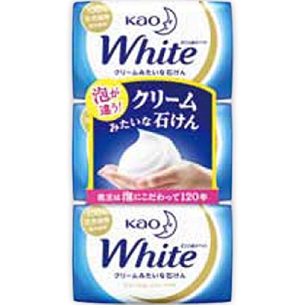 ミネラル任意責花王ホワイト レギュラーサイズ 85g*3個入