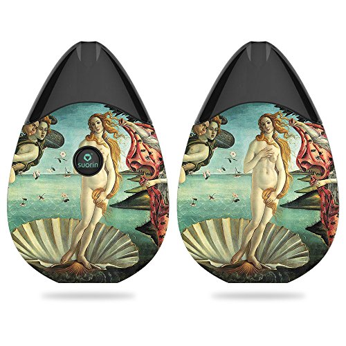 MightySkins Skin Compatible with Suorin Suorin Drop - Birth of Venus | Protective, Durable, and Unique Vinyl Decal wrap Cover | Easy to Apply, Remove, and Change Styles | Made in The USA