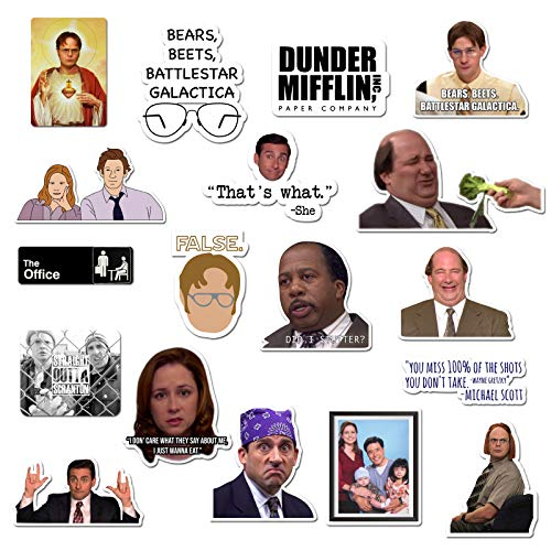 The Office Sticker Pack of 20 Stickers