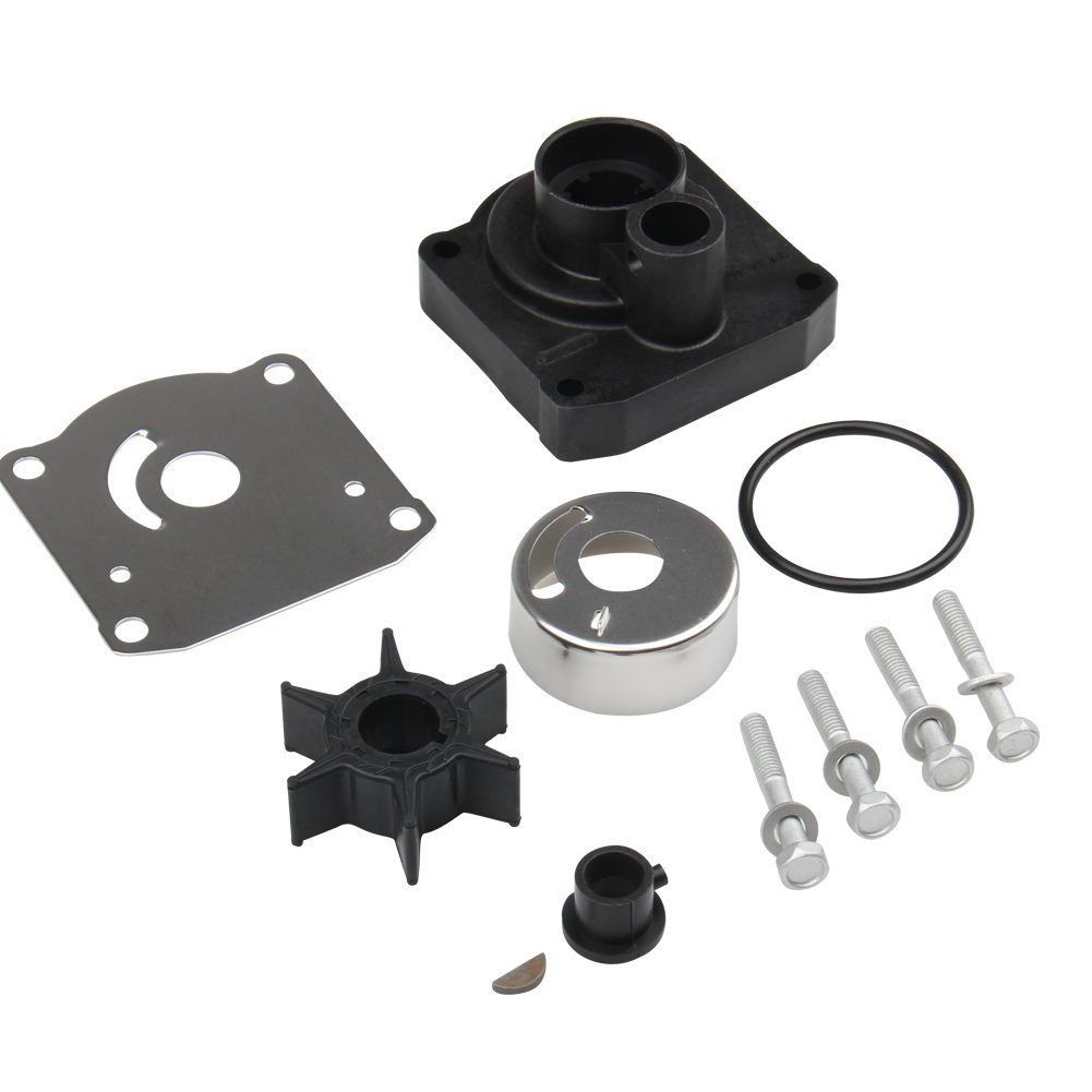 BIG AUTOPARTS Water Pump Impeller Repair Kit for YAMAHA 25hp Outboards PART # 61N-W0078-11-00 Big-Autoparts F25ELH 0405 F25ELR 0405