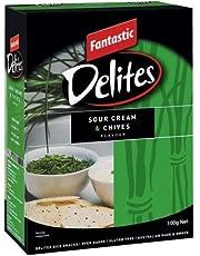 Fantastic Delites Sour Cream and Chives, 100g