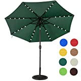 Best Patio Umbrellas - Sundale Outdoor Solar Powered 32 LED Lighted Outdoor Review