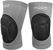 MoKo Protective Knee Pads, Professional Thick Sponge Anti-Slip Collision Avoidance Kneeling Kneepad, Outdoor C