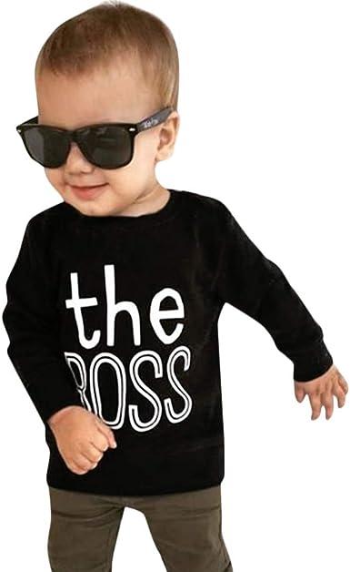 YanHoo Ropara niños Bebé niño Niños Niños Niñas Camiseta de ...