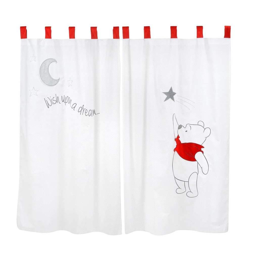 Blancho Bedding Disney Winnie The Pooh Sleeping Baby - Curtain