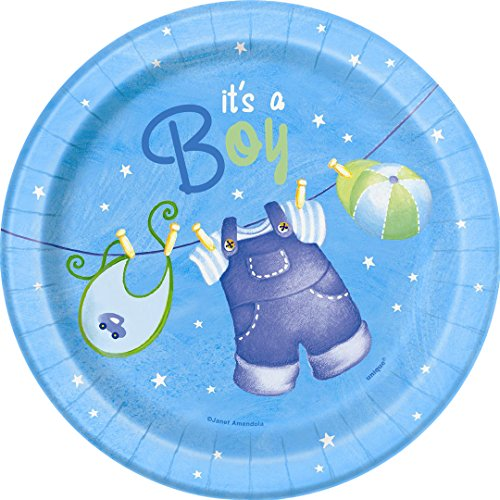 baby shower disposable plates - 9