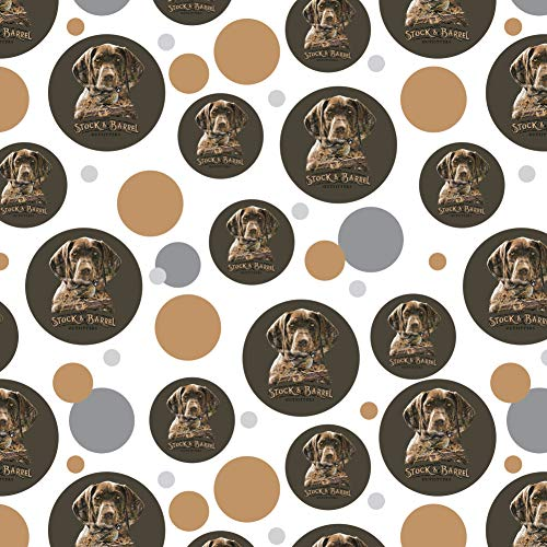 GRAPHICS & MORE Stock and Barrel Outfitters Pointer Dog Quail Hunting Premium Gift Wrap Wrapping Paper Roll