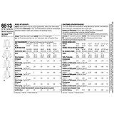 Simplicity US8513A Misses' Long Sleeve Bodysuit