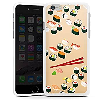coque iphone 6 nourriture silicone