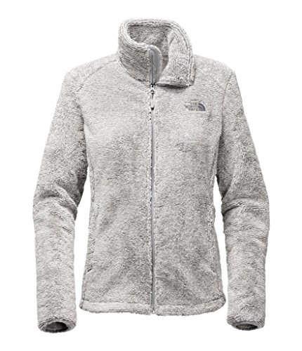 The North Face Women's Osito 2 Jacket - High Rise Grey/Mid Grey Stripe (Medium)