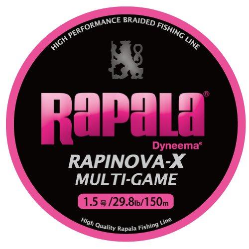Rapala(ラパラ) PEライン ラピノヴァX マルチゲーム 150m 1.5号 29.8lb ピンク RLX150M15PKの商品画像