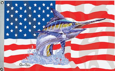 Taylor Made Products 1953 Carey Chen US/Blue Marlin Flag, 16 x (1953 Flags)