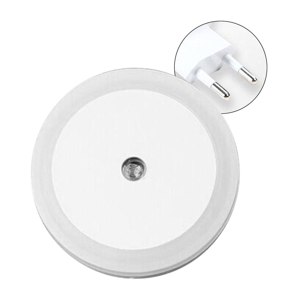 Petite forme ronde Wall Light LED lampe à induction Veilleuse automatique commutateur de lumière capteur ménage fournitures économie d'énergie Detectoy
