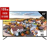 "EliteLux 43"" FHD DLED Smart TV (LS43FHD1000) with high-Performance Quad-core Processor, 3 X HDMI, USB, 1GB/768MB DDR+4GB Flash, Wireless and Network Ready for a Smarter and Smoother Experience"