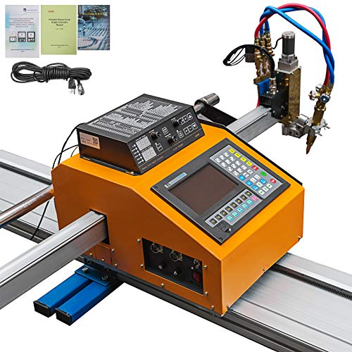 Mophorn 63(W) x 236(L) Inch Effective Cutting CNC Plasma Cutter Professional Plasma Cutting Machine 110V Flame Cutting Machine CNC Plasma Cutter Machine for Plasma Gas Cutting Equipment