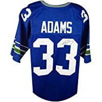 $149 » Jamal Adams Autographed Seattle Seahawks Custom Football Jersey - BAS COA