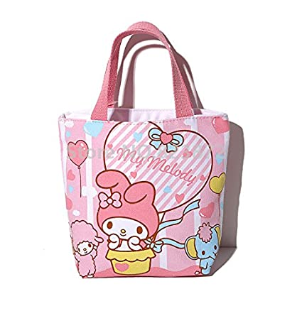 4ae39d13fdd Image Unavailable. Image not available for. Color  Cute Small Tote Lunch Bag  for Kids ...