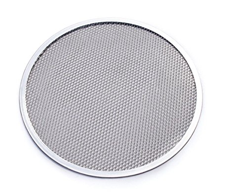 - DingSheng 6''- 20'' Seamless Aluminium Mesh Pizza Screen Baking Tray Bakeware Cook Net (6 Inch)