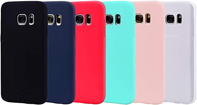 6 Couleurs Coque pour Samsung Galaxy S6 Edge, Yunbaozi Protective ...