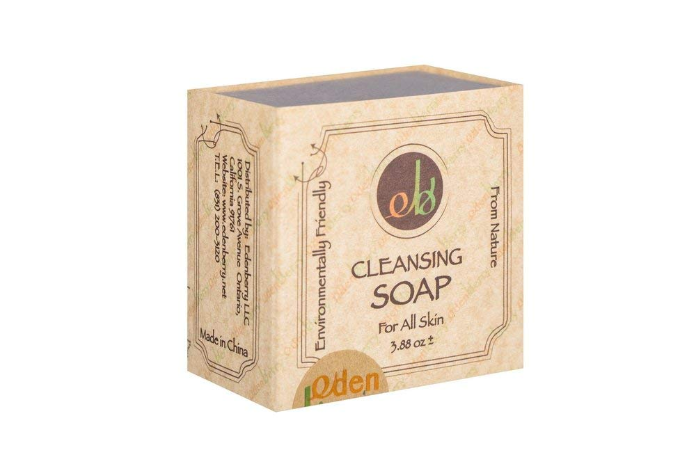 Edenberry Cleansing Soap Bar Organic and 100% Nature Ingredients