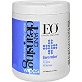 EO Products Hand Cleansing Wipes - Lavender - Cleanses and Moisturizes - 210 Pack (Pack of 4)