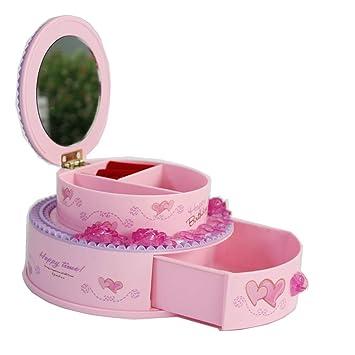FunnyGoo Joyas Rosadas Llaves Cosas pequeñas Caja de ...