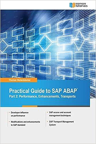 Amazon com: Practical Guide to SAP ABAP: Part 2: Performance