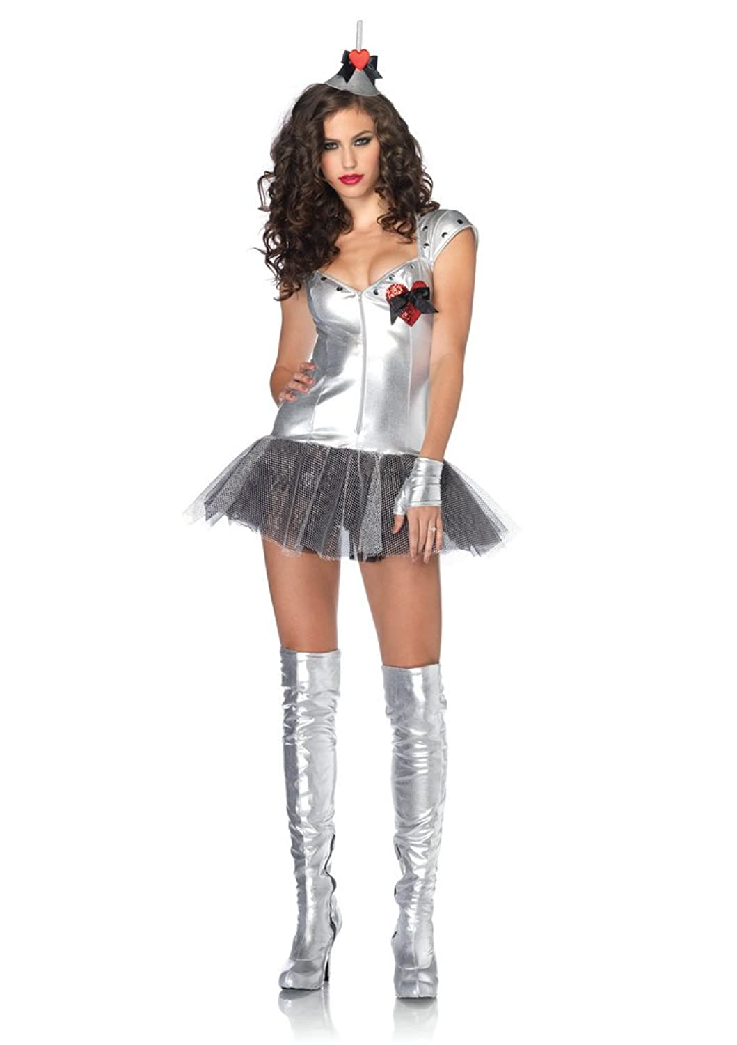 Sc 1 St Amazon.com  sc 1 st  Germanpascual.Com & Tin Man Costume For Girls u0026 Wizard Of Oz Tinman Child Costumes ...