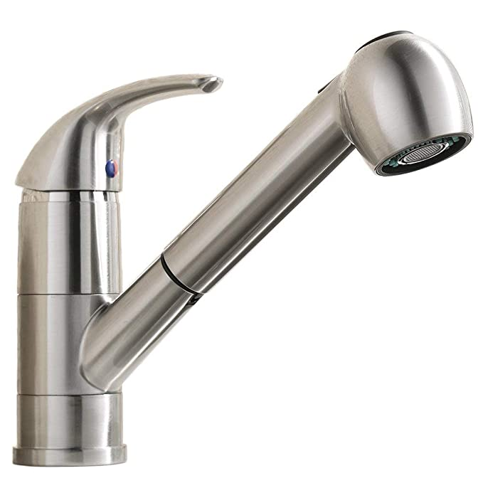 Best Pull out Kitchen Faucet: VCCUCINE Best Modern Commercial Pull Out Sprayer Bar