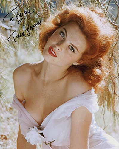 TINA LOUISE AUTOGRAPHED 8x10 PHOTO+COA SEXY GINGER TO MIKE (Sexy Ginger)