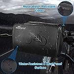 Achort-Borsa-per-Manubrio-della-Bici-Borsa-per-La-Conservazione-Frontale-della-Bicicletta-da-Basket-Impermeabile-da-3L-con-Custodia-per-Touch-Screen-del-Telefono-Cellulare